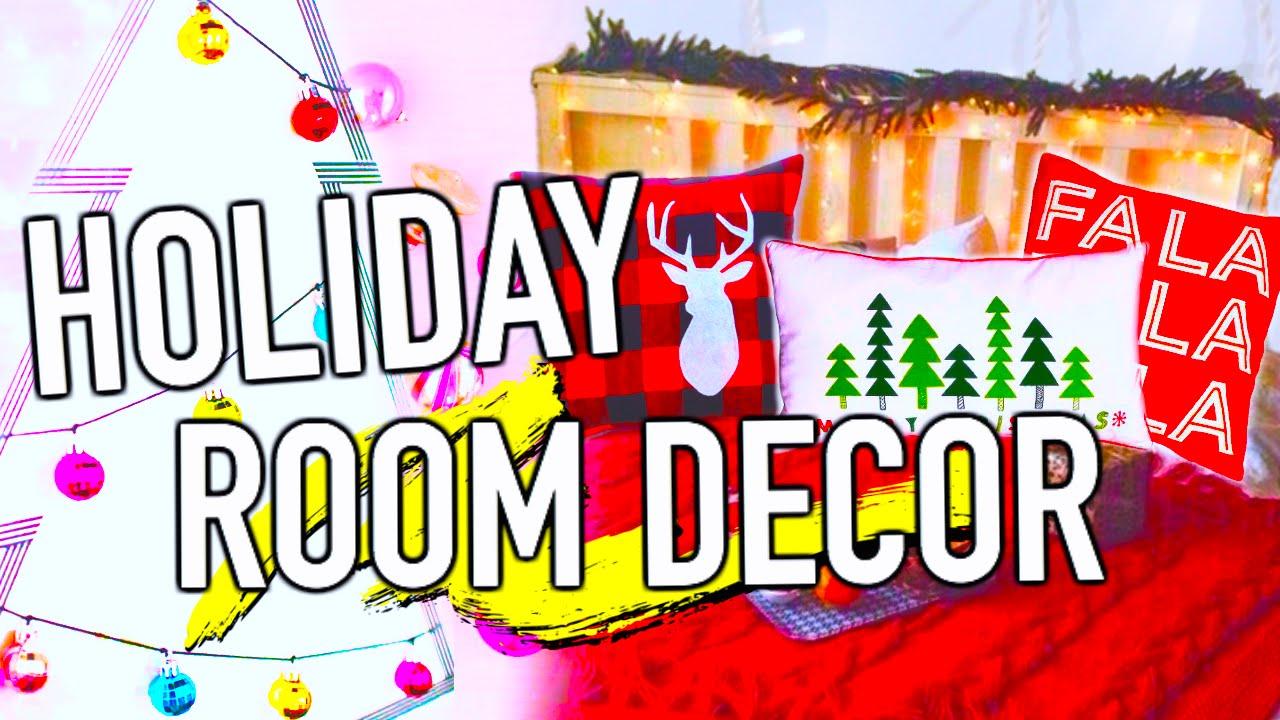Diy Holiday Room Decorations Easy Diy Christmas Ideas