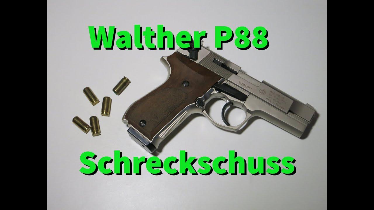 walther p88 schreckschusspistole youtube. Black Bedroom Furniture Sets. Home Design Ideas
