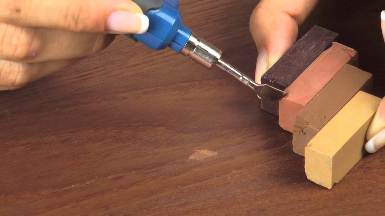 Picobello Reparatur Sets Fur Geoltes Gewachstes Holz Diy Reparatur Kratzer Locher Macken