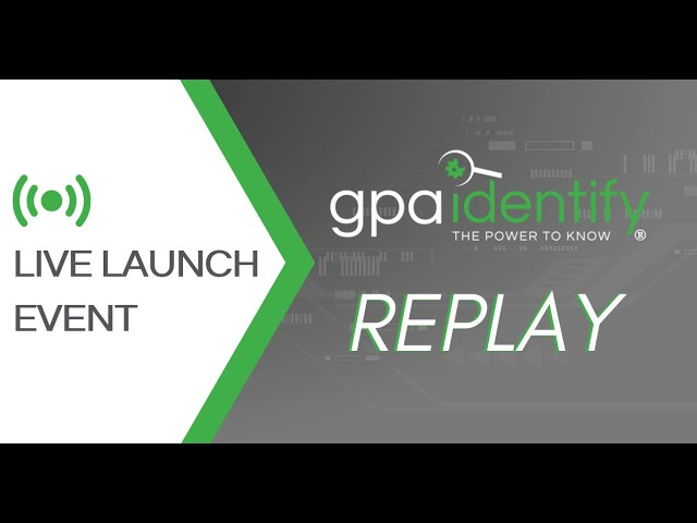 Replay of GPAidentify Live Launch Event