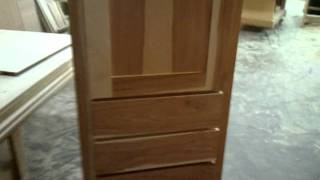 Center City Cabinets - Calico Hickory Vs Rustic Hickory