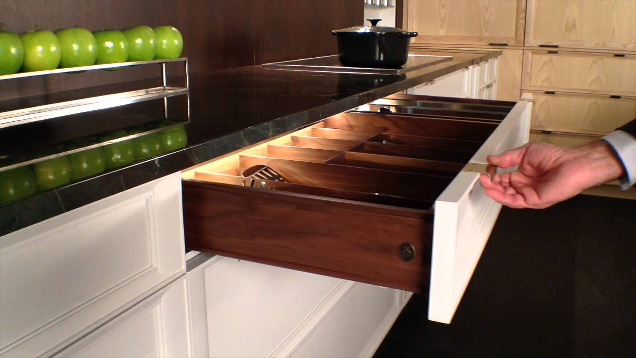 Rutt HandCrafted Cabinetry LED Interior Kitchen Drawer