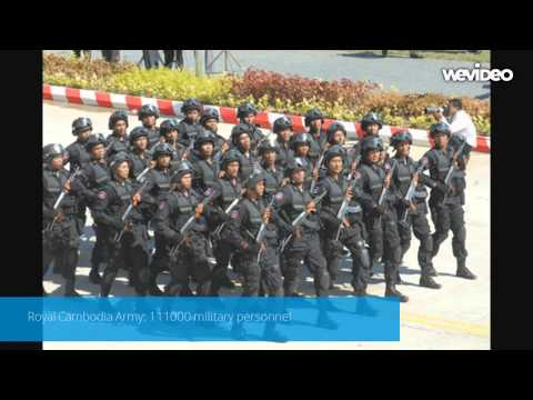 Cambodia Military Power 2014