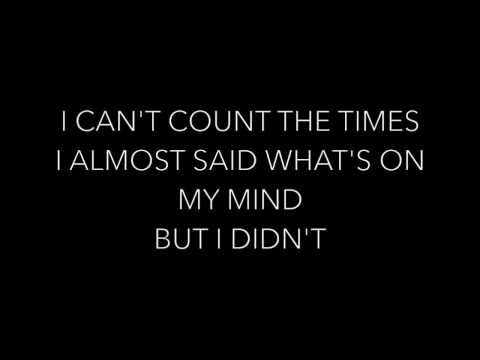 In Case You Didn't Know By Brett Young Lyrics