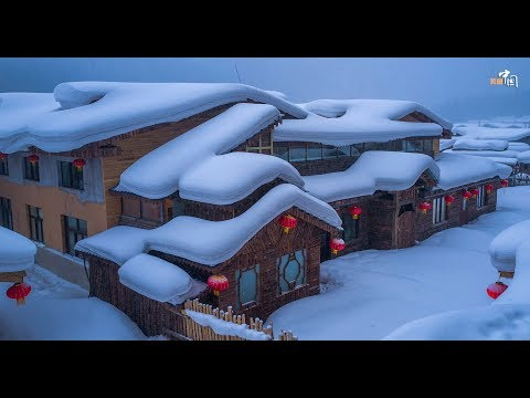10 Breathtaking Photos of China Snow Town, Heilongjiang