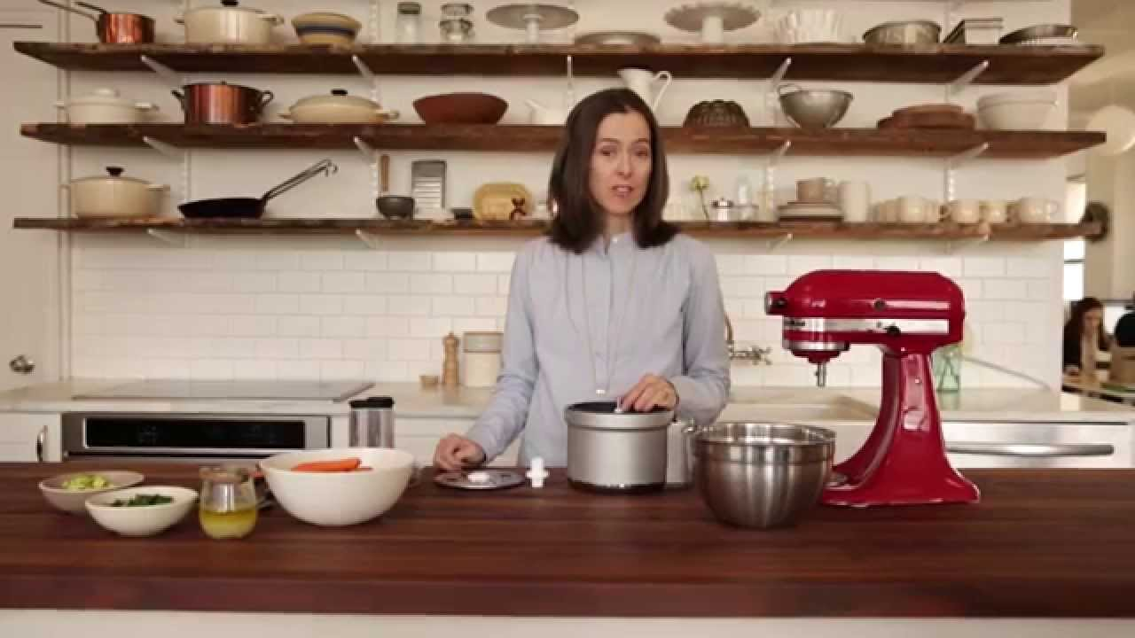 How to Make Salad in a Stand Mixer
