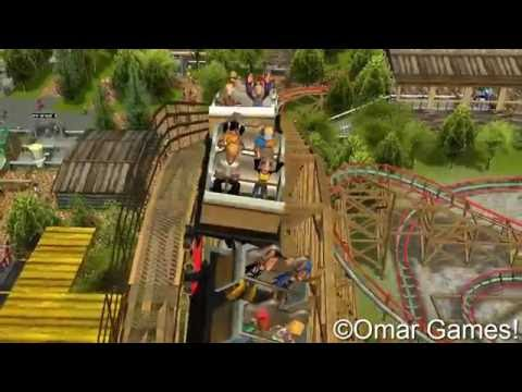 RCT3 - Six Flags Mexico 2016  (Parte 1)