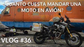 ¿Cuánto cuesta mandar una moto en avión?. VLOG #36