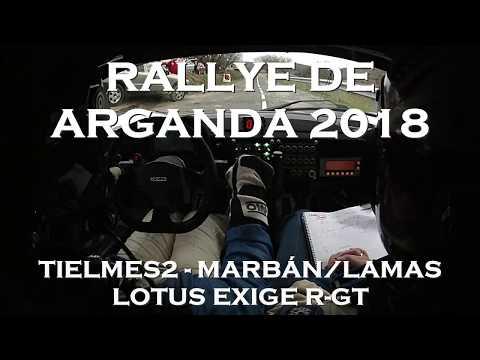 Rallye de Arganda 2018 - Tielmes2 - Marbán/Lamas - Lotus Exige R-GT
