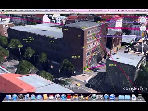 3D database for wireless community network - Freifunk Leipzig