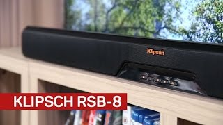 Klipsch RSB-8 offers home cinema thrills and wireless streaming