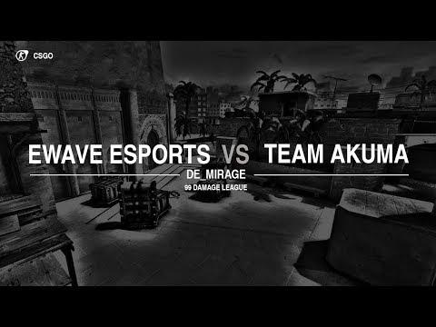 energy-WAVE e.V. vs.Team AKUMA 99Damage Liga Div. 3.14 Game 2