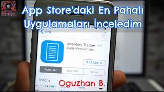 App Store'daki En Pahalı Uygulamalar