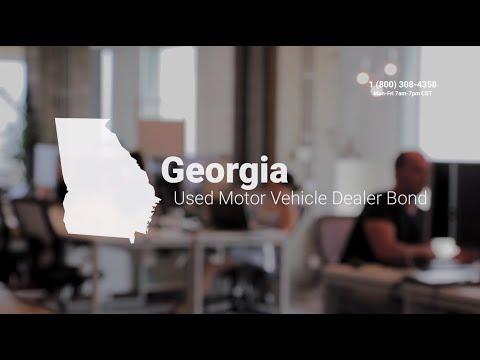 Georgia Used Motor Vehicle Dealer Bond