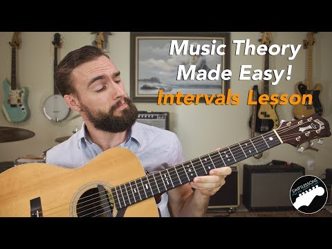 Talk Like a Pro - Guitar Intervals Lesson - Music Theory Made Easy!