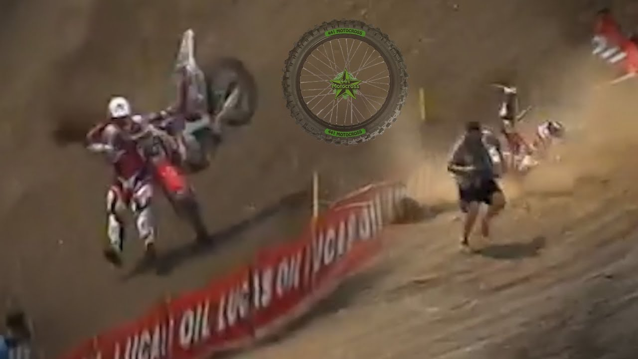 10 Weird-Looking Motocross Crashes