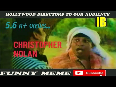 How Hollywood Directors Explain Our Tamil Audience || Funny Meme ||