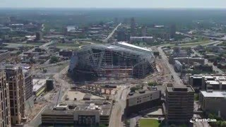 Minnesota Vikings U.S. Bank Stadium Time-Lapse