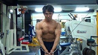 【筋トレ】大胸筋の種目「ケーブルクロスオーバー」の解説動画