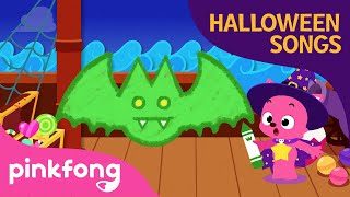 Halloween bats | Halloween Drawing Songs | Pinkfong Songs for Children