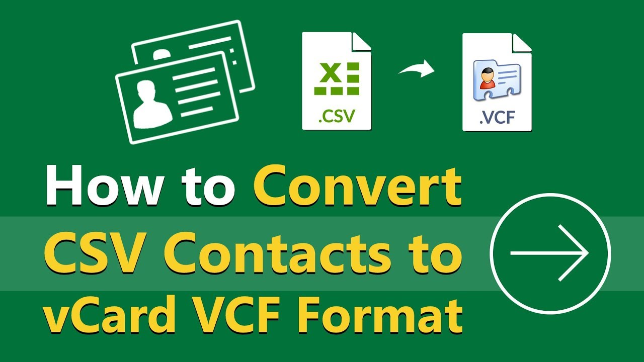 Export LinkedIn Connections to vCard VCF Standard Contacts