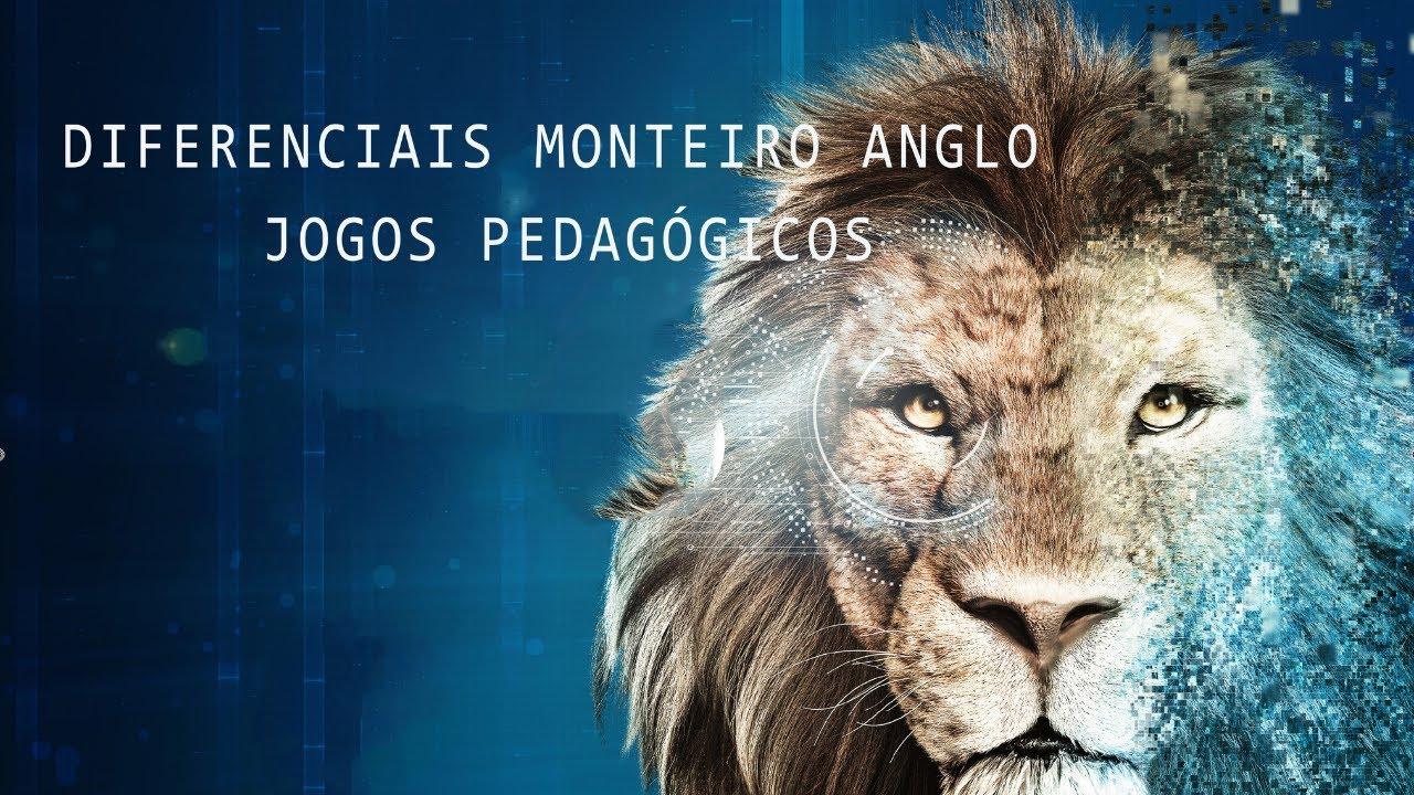 DIFERENCIAIS DO MONTEIRO ANGLO - Jogos Pedagógicos