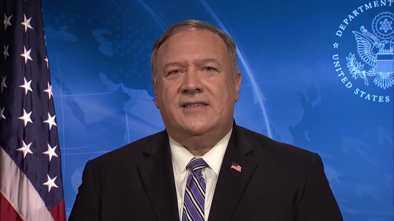 "Secretary Pompeo's video remarks at the ""Prague 5G Security Conference"""