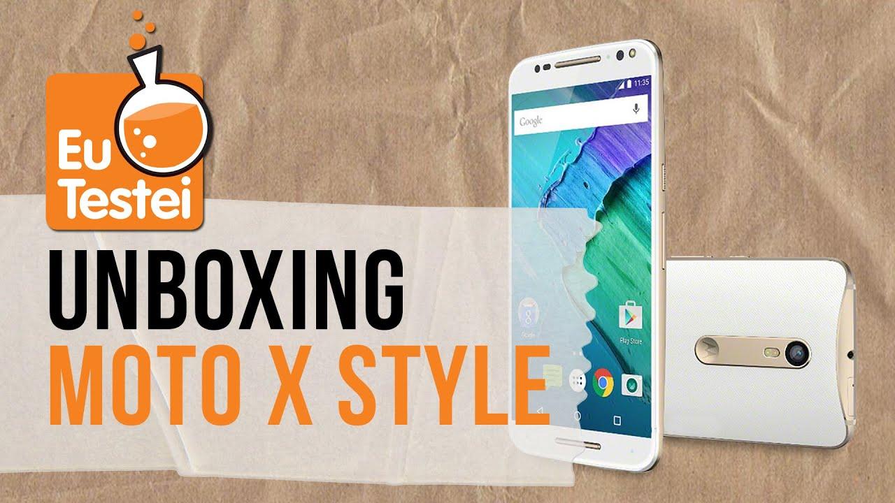 Moto X Style Pure XT1572 Motorola Smartphone , Vídeo Unboxing EuTestei  Brasil