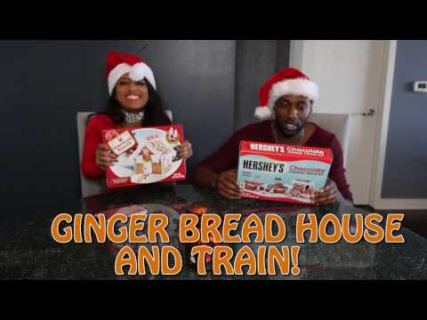 Thumbnail: GINGER BREAD HOUSE AND TRAIN! - OFFICIAL JANINA & DESTORM POWER