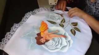 Pintura em tecido – Como montar um jogo de banheiro