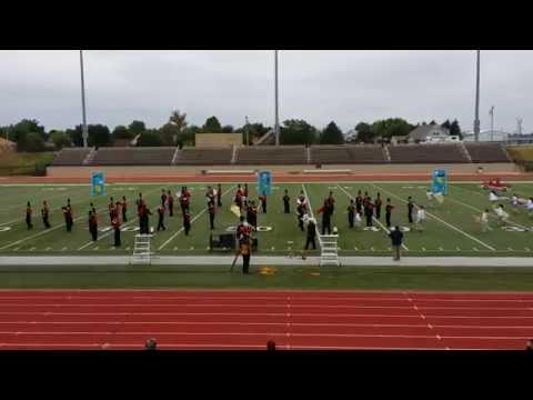 Verdigris High School Marching Band OBA 2014