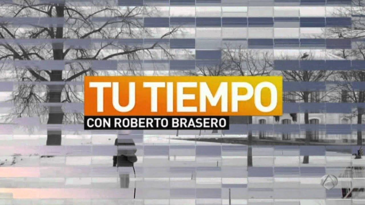 Antena 3 Noticias Tu Tiempo Con Roberto Brasero Cabecera Invierno 2012 Wmv Youtube