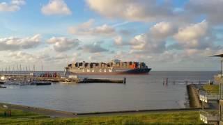 Der Welt größtes Containerschiff