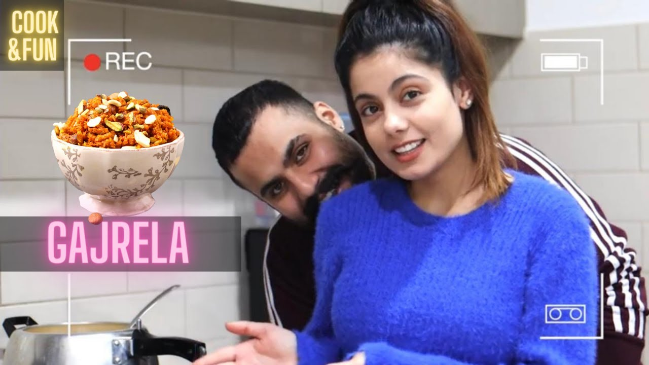 GAJRELA RECIPE WITHOUT GRATING CARROTS | FULL ON FUN | INDER & KIRAT