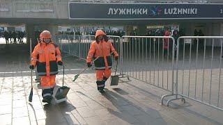 Концерт - массовка за Путина в Лужниках