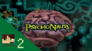 Psychonauts Blind - Part 2 - Success in basic braining