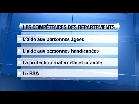 Départementales: quelles sont les compétences des départements