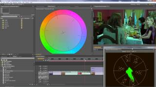 Premiere Pro - Adjusting Chroma - color or hue