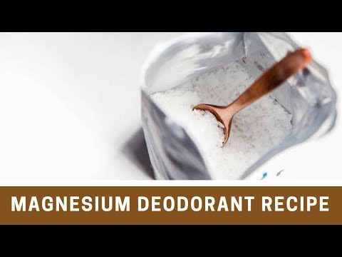 Natural DIY Magnesium Deodorant Recipe