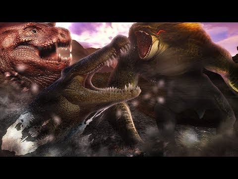 The BIGGEST Predator.. - The Isle - Hypo Colossus Reveal & Legendary Deinosuchus Can Take A Hypo Rex