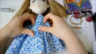 видео Одежда из носка для вальдорфской куклы |