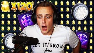 The BIGGEST & BEST Golden Egg Opening On YouTube! | Opening 120 Golden Eggs In Rocket League