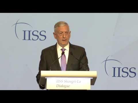 IISS Shangri-La Dialogue 2017: General (Retd) James Mattis