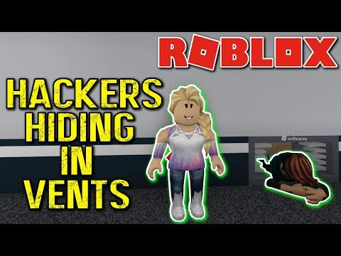 XBOX | ROBLOX | FLEE THE FACILITY #4 // HACKERS HIDING IN VENTS!?!?!