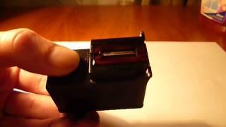 Как прочистить засохший картридж(Быстрое востановление засохшего картриджа струйного принтера Canon., 2014-11-03T21:22:53.000Z)