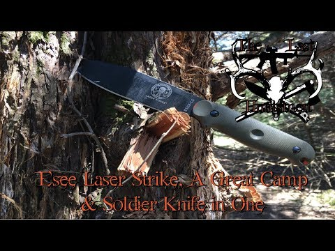 Esee Laser Strike, A Great Camp & Soldier Knife In One