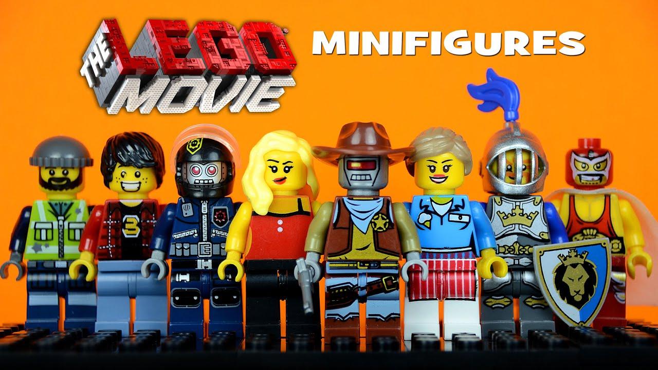 The Lego Movie Minifigures
