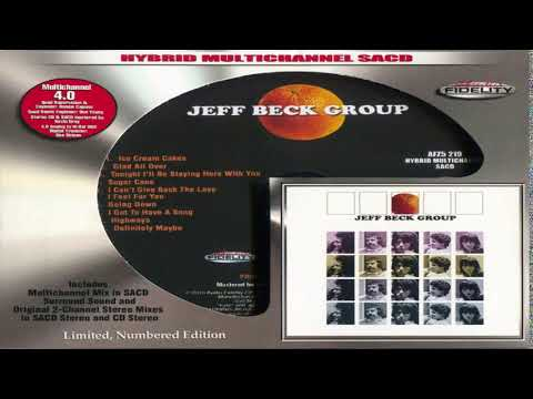 Jeff Beck Group - (Hybrid SACD ltd) Full Album HQ