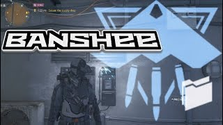 "Classified Banshee Shadow ""Rogue Hunter"" build - The Division 1.8"