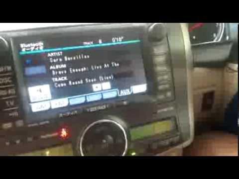 toyota domestic model pair via bluetooth to listen to music